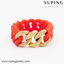 51596- Xuping Jewelry Fashion Bracelets de couleur or 18 carats en promotion