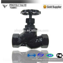 cast iron globe valve screw end non-rising stem globe valve safety steam pipeline high quality material