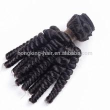 Spring curl Hot 2016 Wholesale Virgin Brazilian Hair, unprocessed 100% Human Hair Extensions weaves