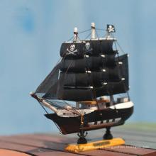 modelo de navio de madeira artesanal barato