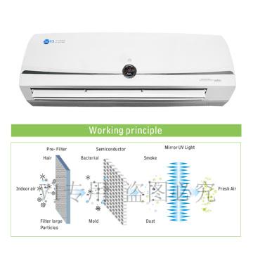 Desinfectante de aire comercial lavable de 110V 90w pco