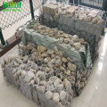 PVC hexagon mesh gabion box galvanized stone pagar