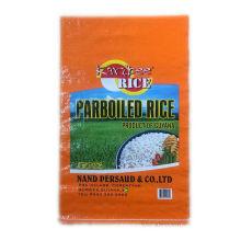 Saco de arroz tecido 50kg pp com impresso