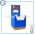 Cardboard Dumpbin Display Supermarket Fruits Promotional Dump Bins