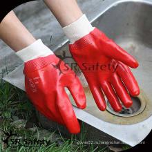 SRSAFETY Лучшее качество красного химического пвх перчаточного поролона
