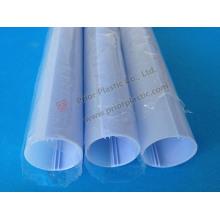 Dupla cor PC tubo, tubo de LED T5/T8/T10 sem alumínio