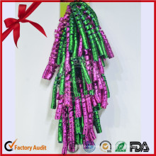 Beautiful Solid Color PP Curly Ribbon Bow for Decoration