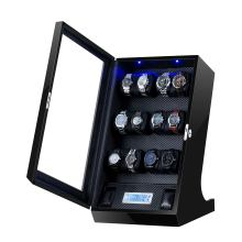 Gran enrollador de reloj de varios rotores con pantalla táctil