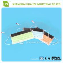 Máscara facial médica não tecida com escudo fabricada na China 2016 CE ISO FDA