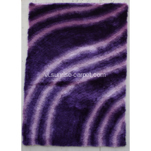 Thin Polyester Shaggy Shades Design