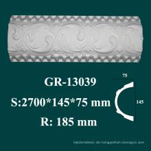 Haus dekorative Elemente High-Density-Polyurethan Sockelleiste Formteil