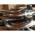 76mm diameter 90degree High Pressure zinc plated industrial vacuum cleaner bend