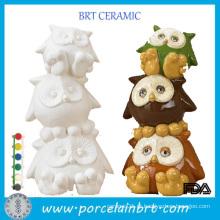 Atacado Cerâmica Cerâmica Suprimentos Greenware Porcelana Doll Ware Unpainted Bisque