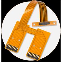 Placa de circuito impresso do PWB do cabo flexível do protótipo em linha