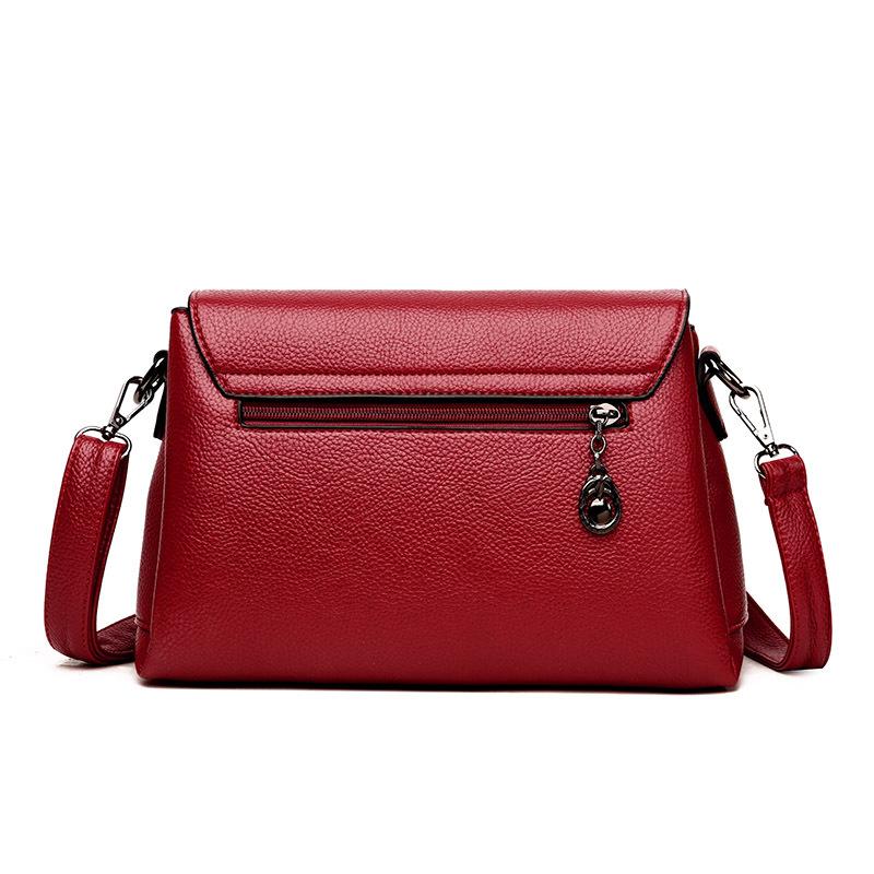 Newest large lady leather handbags