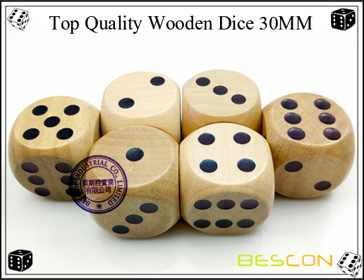 Top Quality Wooden Dice 30MM-2