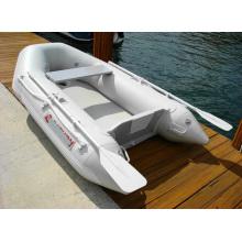 Barco inflável pequeno barco a remo CE