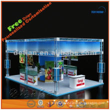 6x9 exhibition truss display design, exhibition display booth production export to abroad