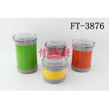 Stainless Steel Colorful Food Storage (FT-3876)