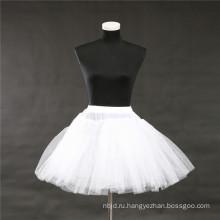 Свадебные нижняя юбка Хооп кринолин свадебные аксессуары кружева юбка