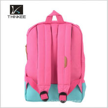 latest design fancy green teens fashion college school bags