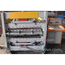 color steel double roll forming machine