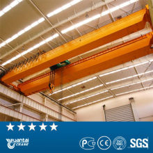 75/20tons Electric dual beam bridge crane with hook used in workshop and warehouse