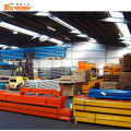 Double-side steel structure industrial warehouse pipe rack system