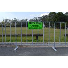 Contrôles de foules de concerts Contraintes temporaires à vendre