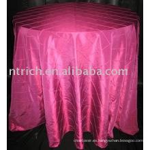 Mantel, cubierta de tabla del camaleón, ropa de mesa del banquete del hotel