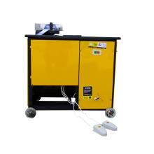 Máquina para doblar barras de refuerzo completamente automática