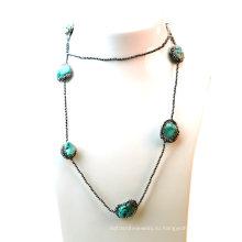 Оптовое ожерелье бирюзы моды для женщин Lady Jewelry