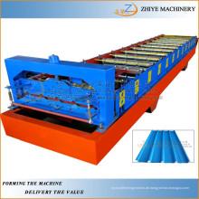 Farbige Stahlwalzenformmaschine / Wand- und Dachbleche Kaltwalzmaschine