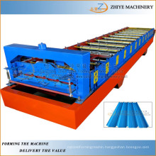 colored steel roll forming machine/ wall and roof sheets cold rolling machine
