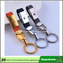 fashion Wholesale Custom Leather Keychain