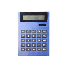 8 Digits Dual Power Desk Calculator with Adjustable Head