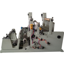 Máquina de corte e rebobinamento para fita adesiva