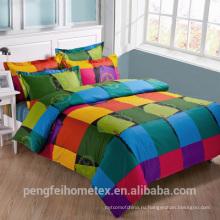 Полиэстер микрофибры ткань для домашнего текстиля на продажу