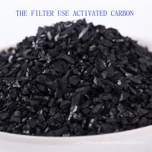 Uso de filtro de água de bebida Carvão ativado por casca de coco