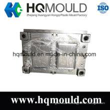 Herramienta de inyección de plástico para molde de plástico de cesta de productos básicos