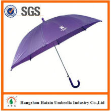 Professionelle Auto Open süß drucken Kind Regenschirm schwarz