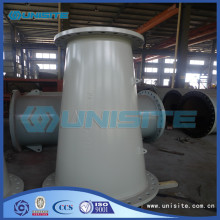Wear resistant thick wall pipe material