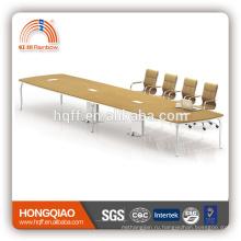(МФЦ)ХТ-23-66 современный конференц-стол из нержавеющей стальная рама 6.6 М конференц-столы для продажи