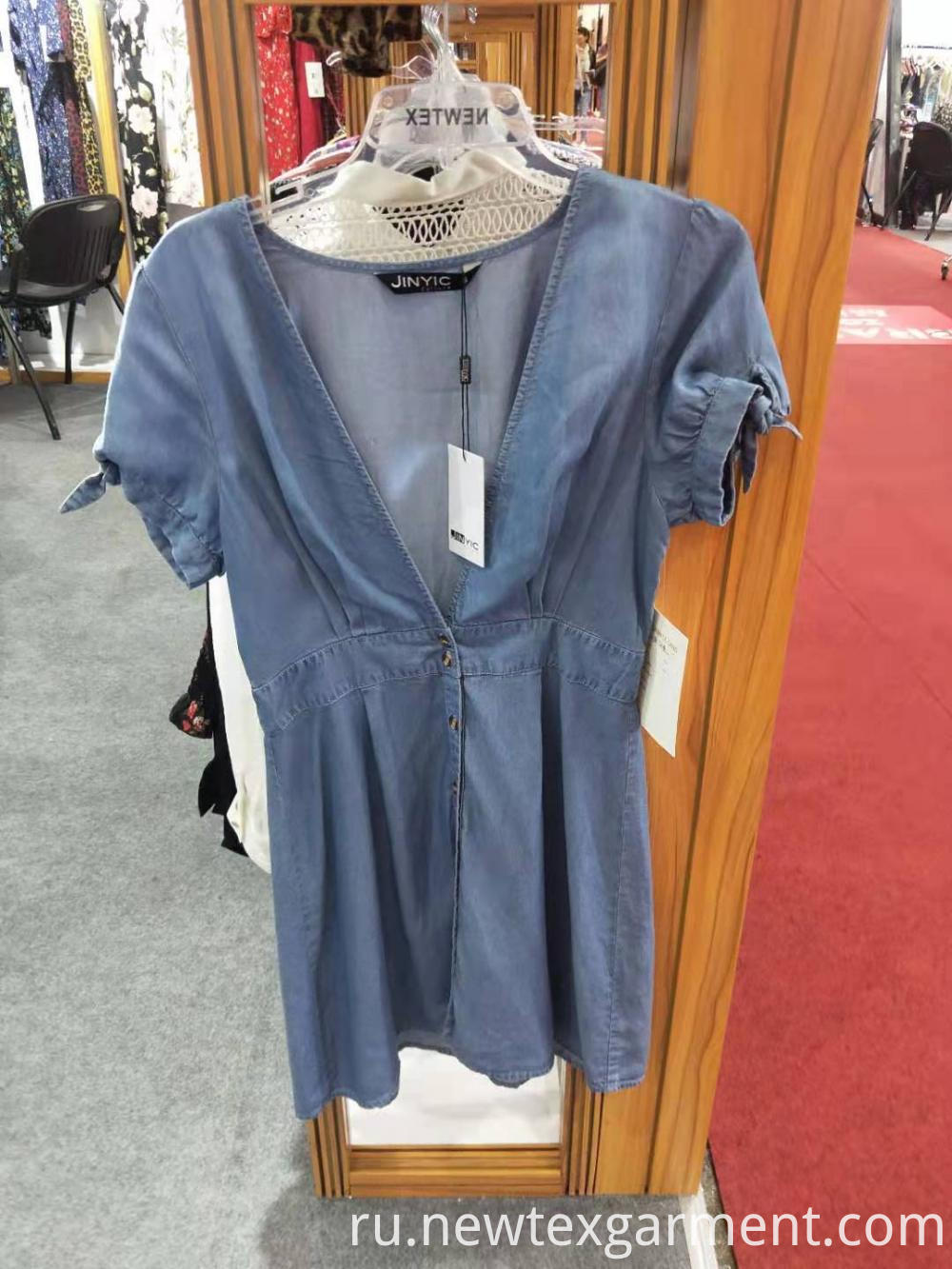 Summer Casual Denim Dress