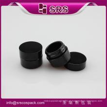 SRS livre frasco de cosméticos de luxo pequeno, acrílico mini 5g cosméticos frasco de gel uv