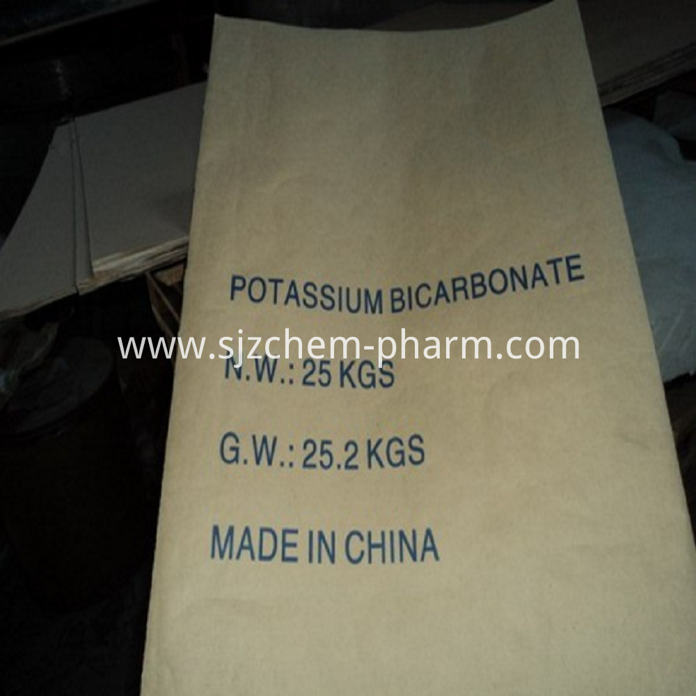 Food Grade White Crystal Potassium Bicarbonate-4