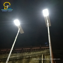 promotional 30W-180W intelligent light all in one solar led street light
