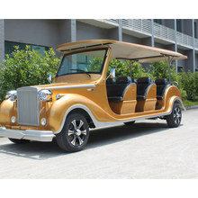 China Adult 8 Seater Luxury Electric Vintage Classic Car