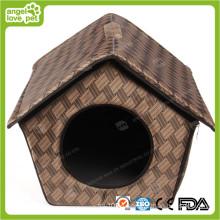 Casa de perro de moda de algodón (HN-pH568)