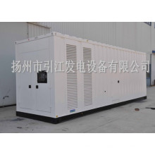 Ensembles de générateurs de conteneurs silencieux pour moteurs diesel